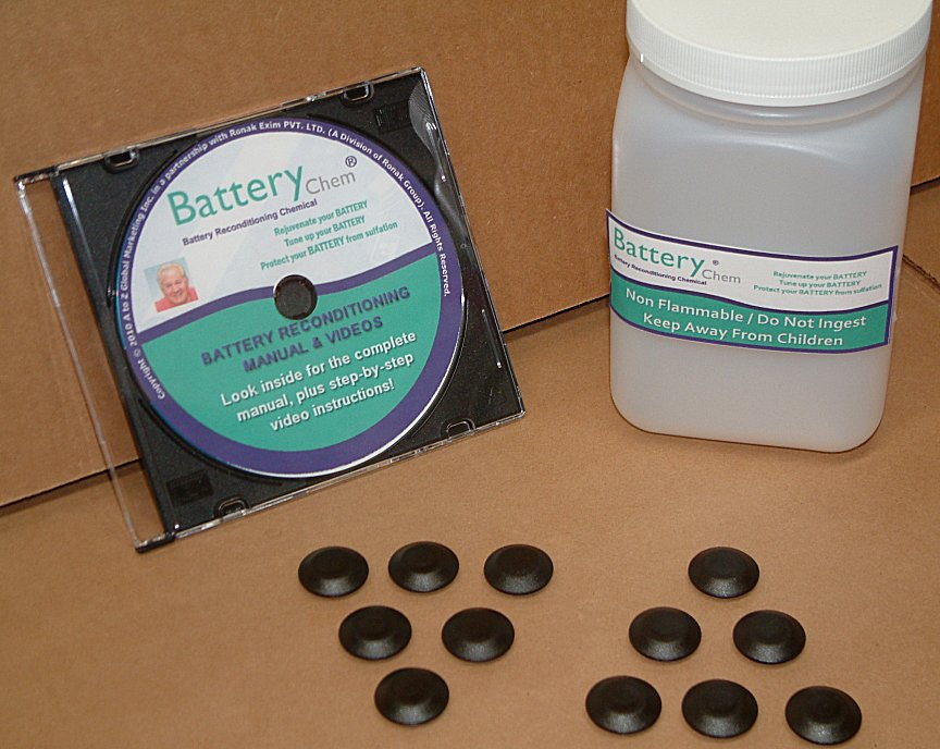Battery rejuvenation with epsom salts yeast